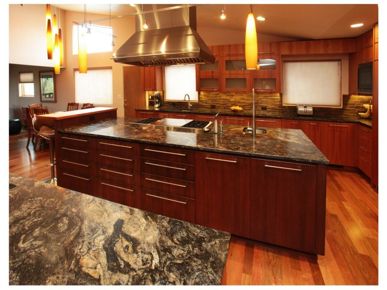 Kuche Insel Mit Granit Arbeitsplatte Moderne Kuche Grosse Kucheninsel Schone Kuchen