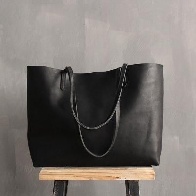 Handmade Women s Fashion Leather Tote Bag Shoulder Bag Shopper Bag ZB01 489b313d2fda3