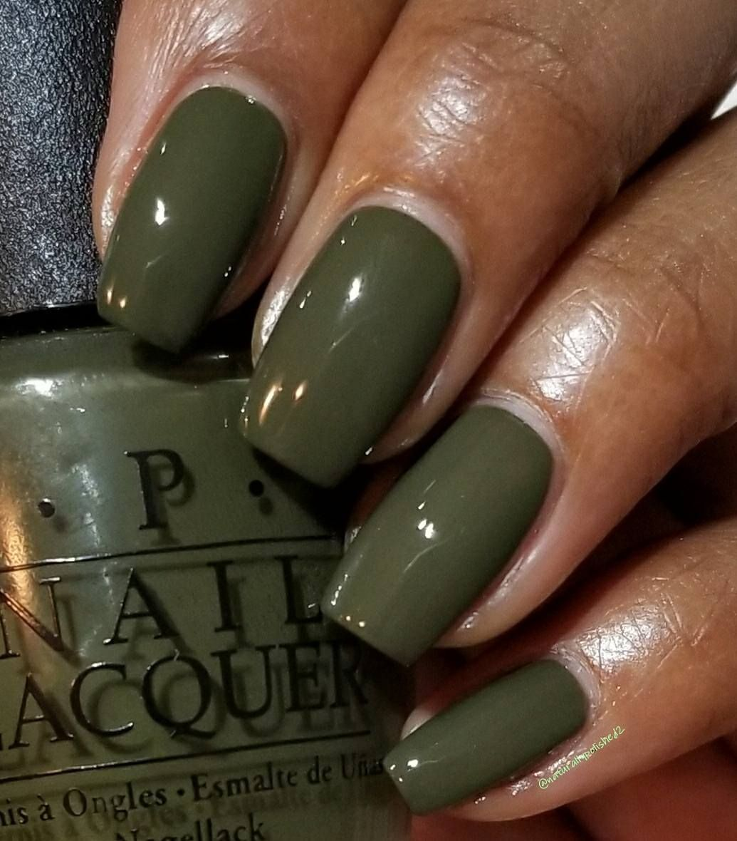Opi Quot Suzi The First Lady Of Nails Quot On Dark Skin Green