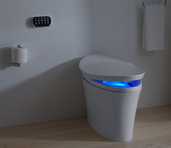 The Veil Intelligent Toilet By Kohler Smart Toilet Dual Flush Toilet Kohler Toilet