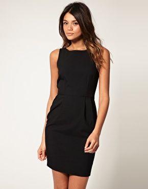 ec829c4ac6b3 ASOS Pencil Dress with Tulip Skirt - too short??   Little Black ...