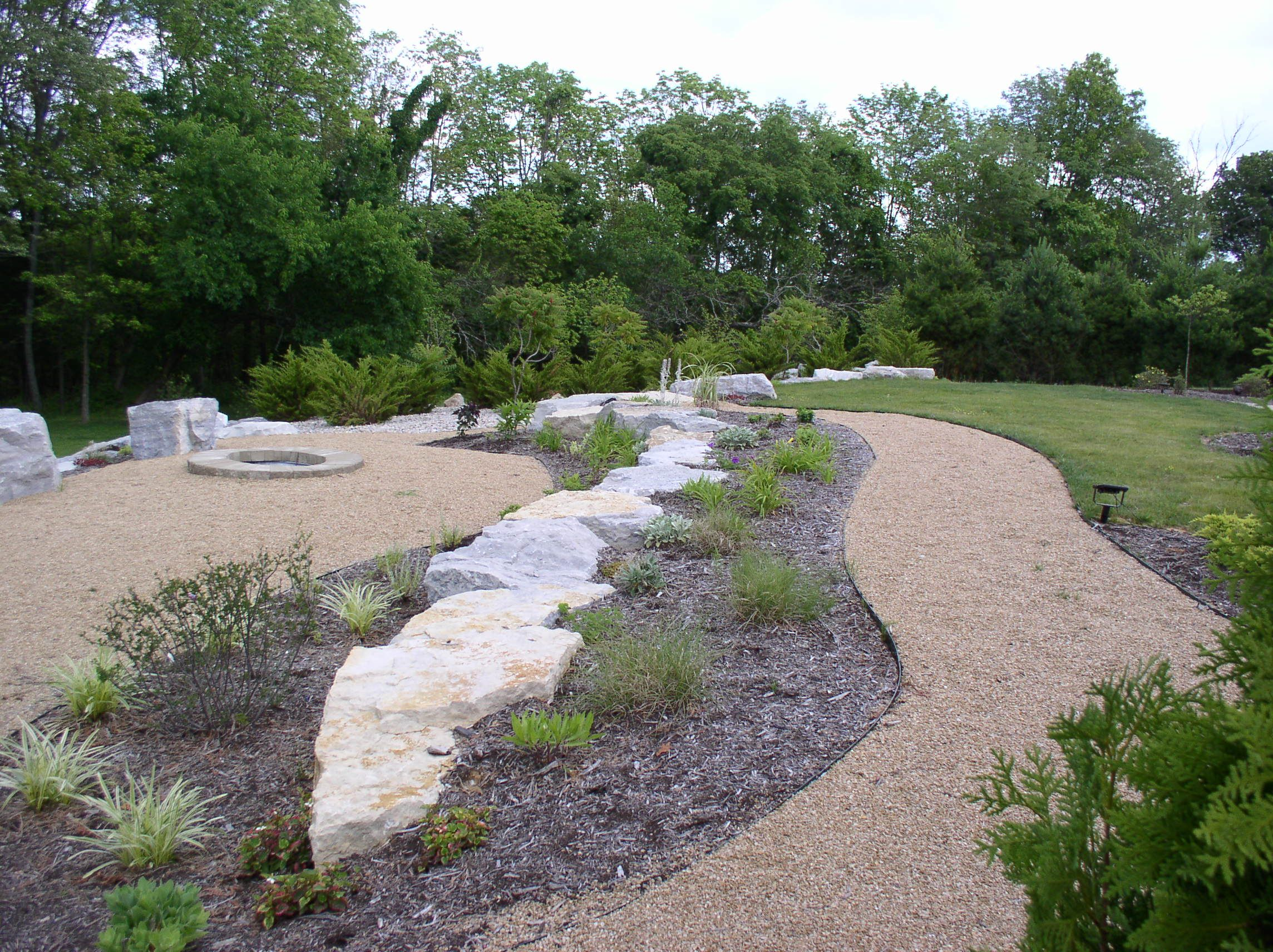 Sculpture Of Garden Pathways Designs