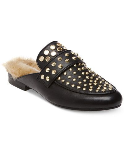 925b74d3237 Steve Madden Women's Jordan Studded Mules | Shoes!!! in 2019 ...