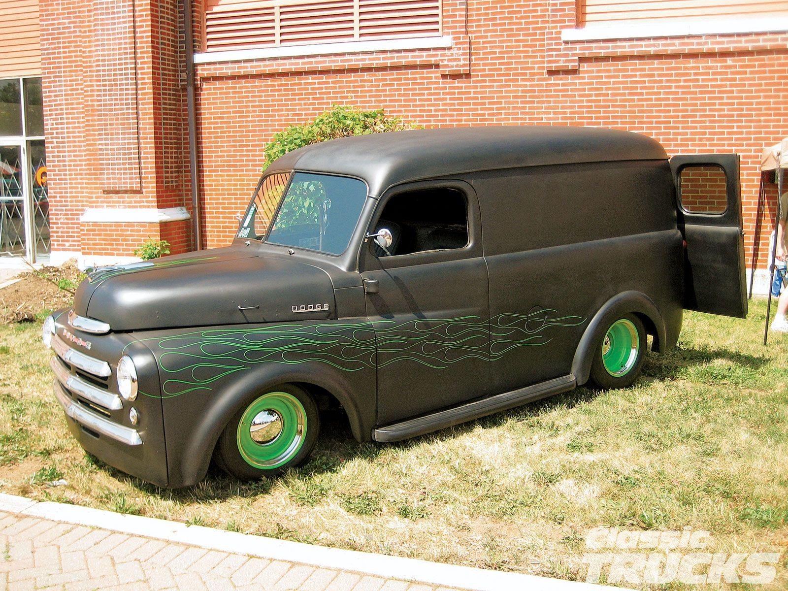 Dodge panel truck google search