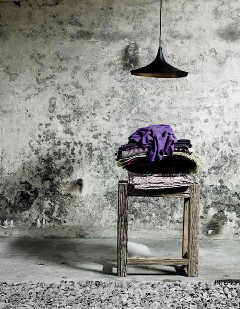 Concrete Wall Purple Muros Diseno De Interiores Disenos De Unas