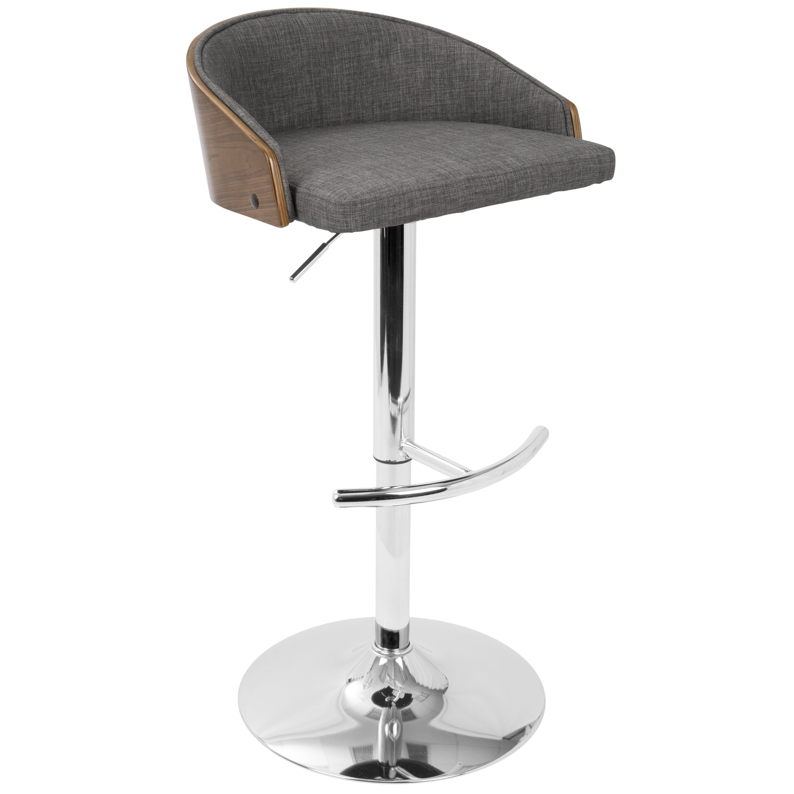 Magnificent Strick Bolton Blakey Wood And Chrome Mid Century Modern Ncnpc Chair Design For Home Ncnpcorg