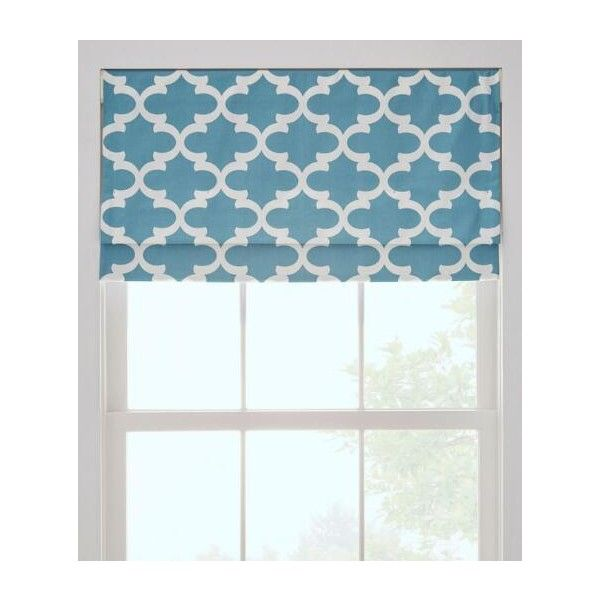 Prospect And Vine Easton Trellis Lined Faux Roman Shade Brl Liked On Polyvore Featuring Home Home Decor Window Treatments Window Blinds Grey
