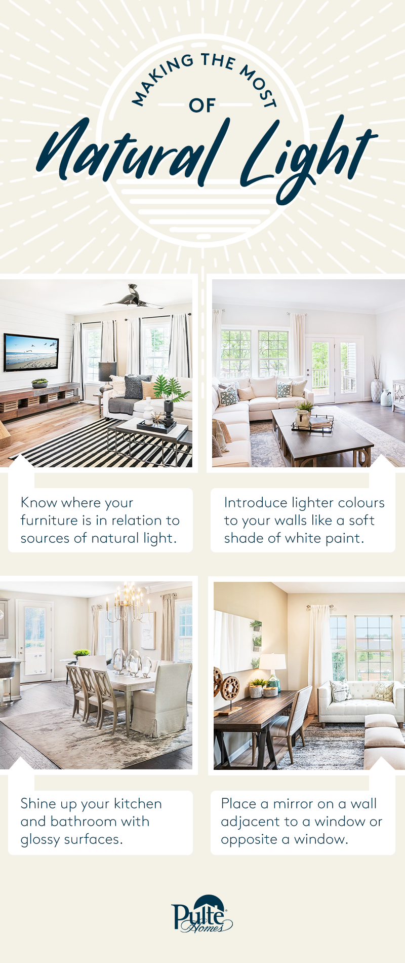 Making The Most Of Natural Light Design Your Dream House Custom Homes Custom Home Designs