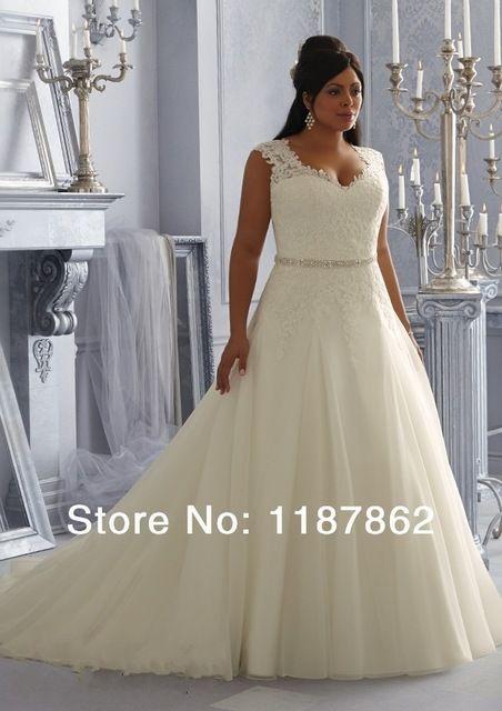 wd-0253 plus size hochzeitskleid 2014 modische spitze brautkleider ...