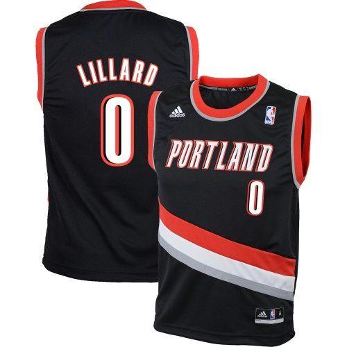 a0b3fa009b4 Damian Lillard Portland Trail Bllazers Black Jersey (Toddler 2T) for  22.99
