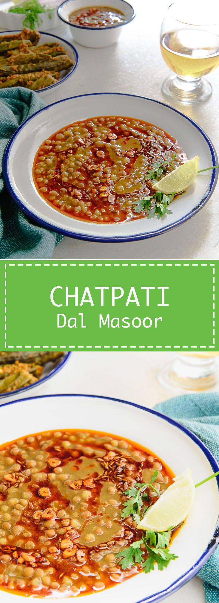 Chatpati Dal Masoor | Rezept | Indische Küche, Indische und Vegetarisch