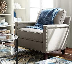 Upholstered Chairs Slipcovered Pottery Barn