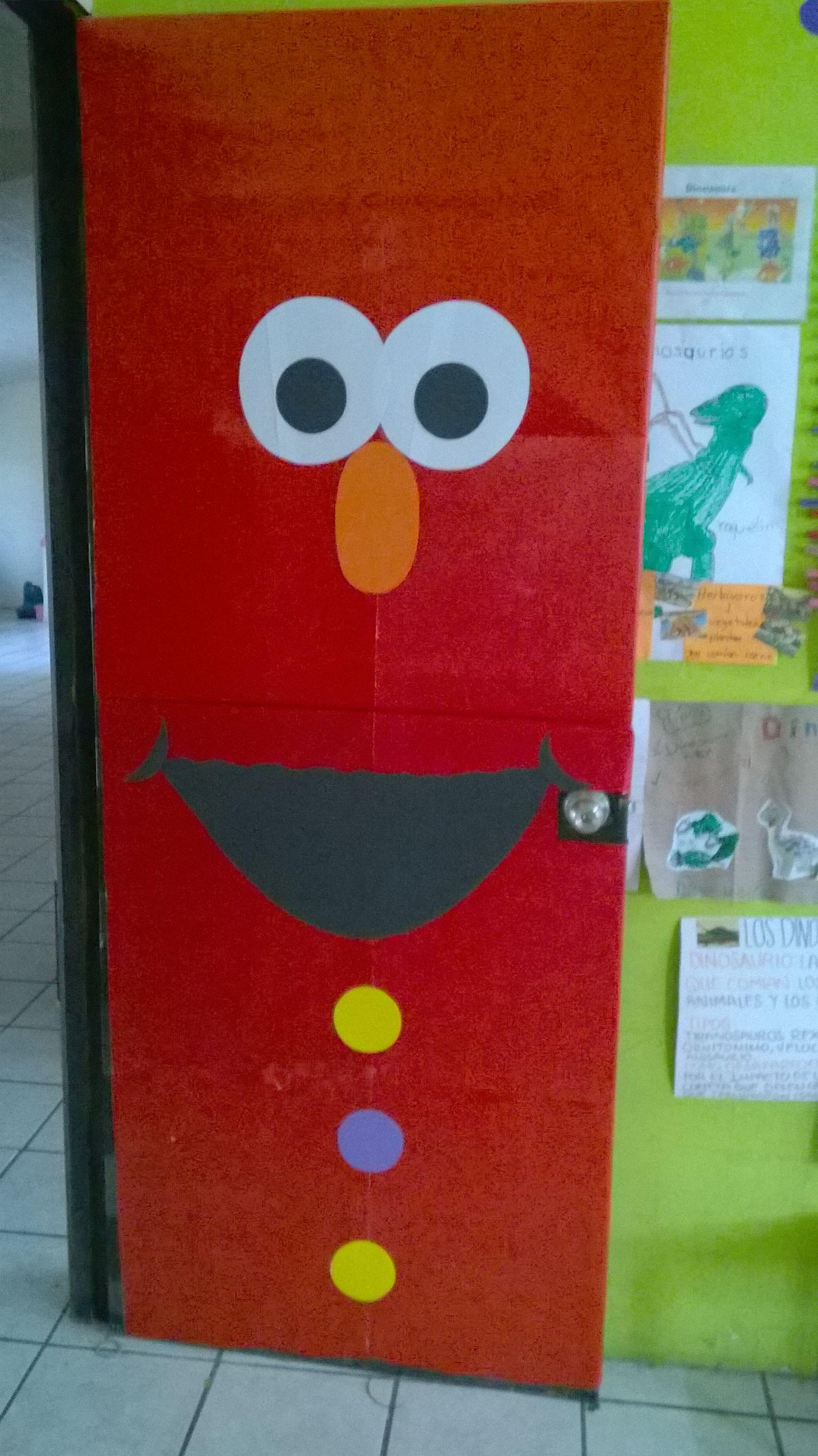 Sesame Street Classroom Door Love This One Preschool
