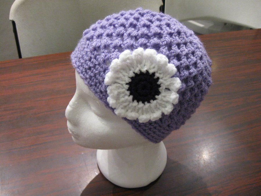 Butterfly Stitch Beanie - Meladora\'s Free Crochet Patterns ...