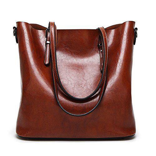755a4edf1e4f Abshoo Women Soft Leather Handbags Tote Bags (Brown) Abshoo