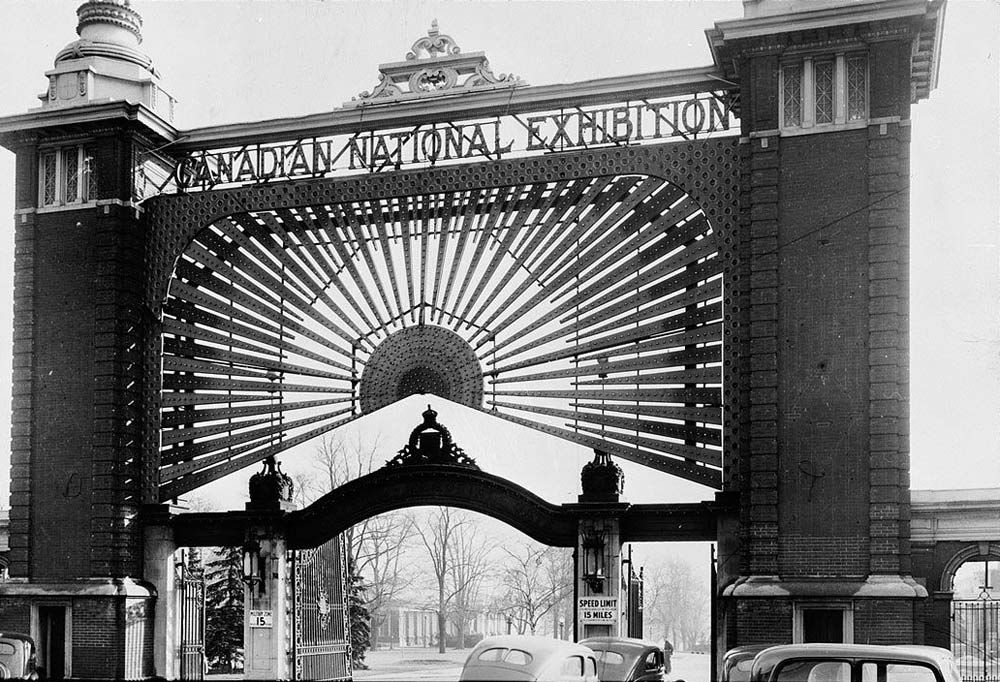 CNE gates from 1942 (via Torontoist)
