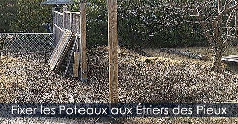 Installer Poteaux de Clôture - Étapes d\'installation d\'une clôture ...