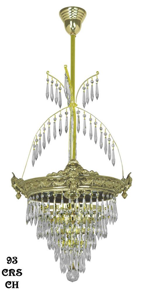 Victorian style chandeliers crs chvictorianchandelier victorian style chandeliers crs chvictorianchandelier empirestylecrystalprismchandelier mozeypictures Choice Image