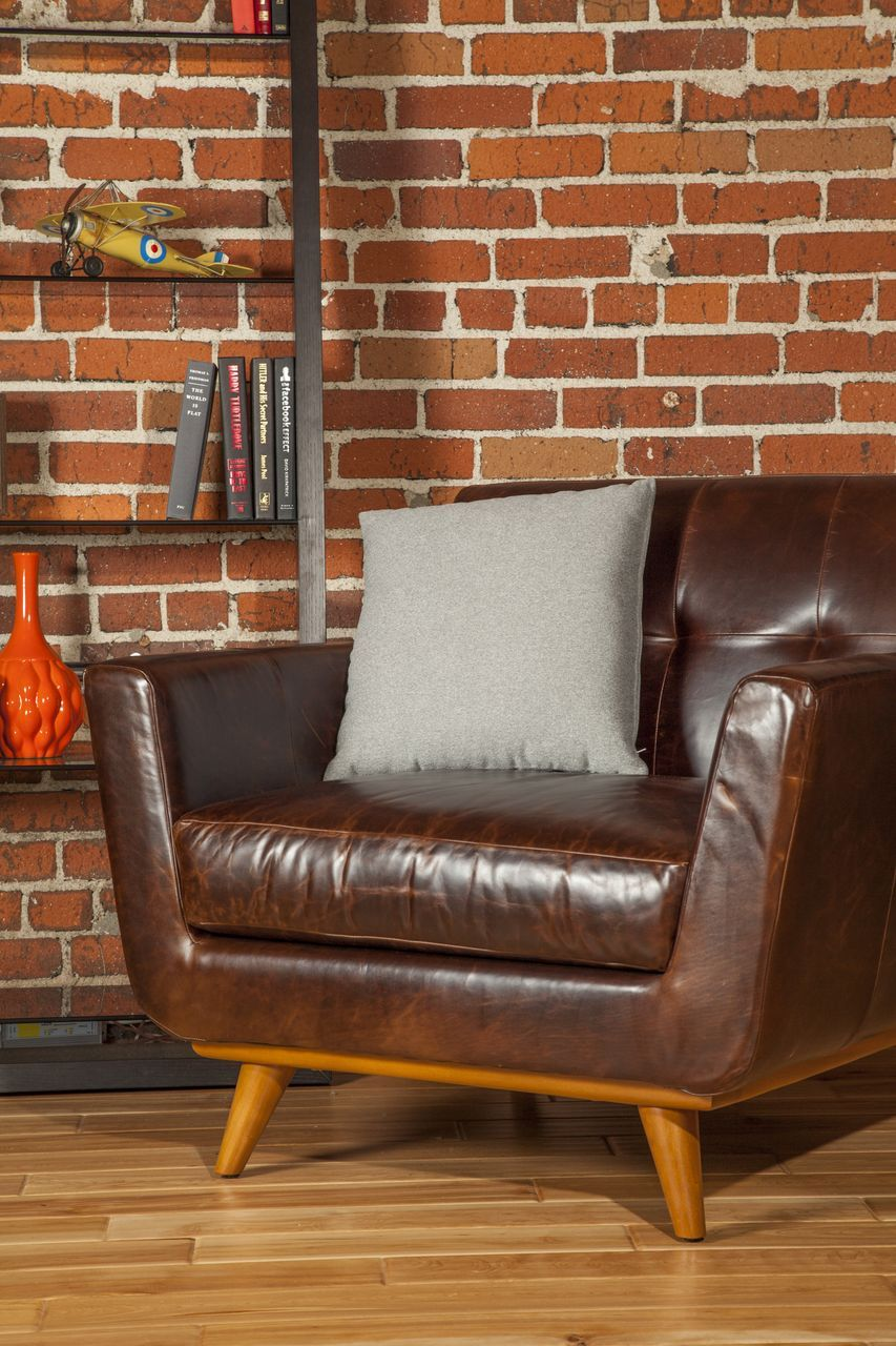 Nixon leather chair from thrive modern home decor and wall art