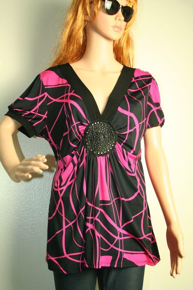 937e24e0a20 Janette Plus USA blouse tunic size 3XL  JanettePlusUSA  Blouse   Casualevening