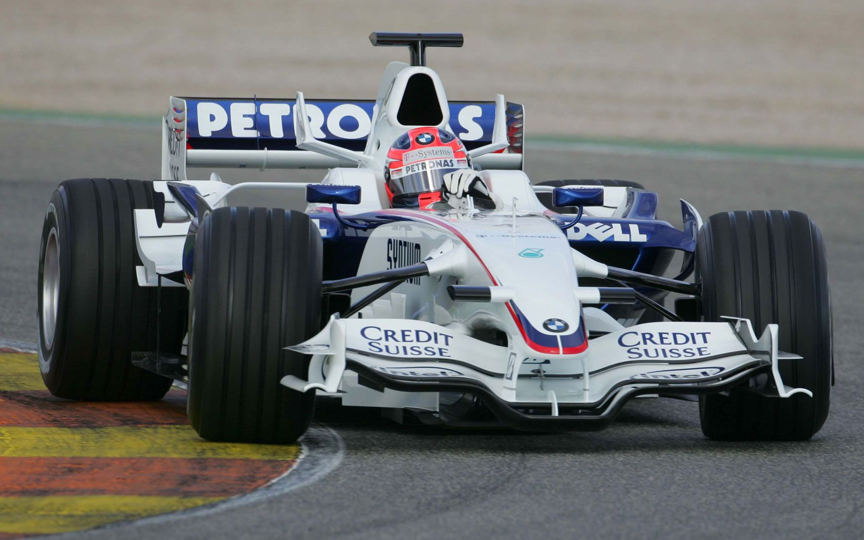 Robert Kubica wins the Canadian Grand Prix 2008. First win