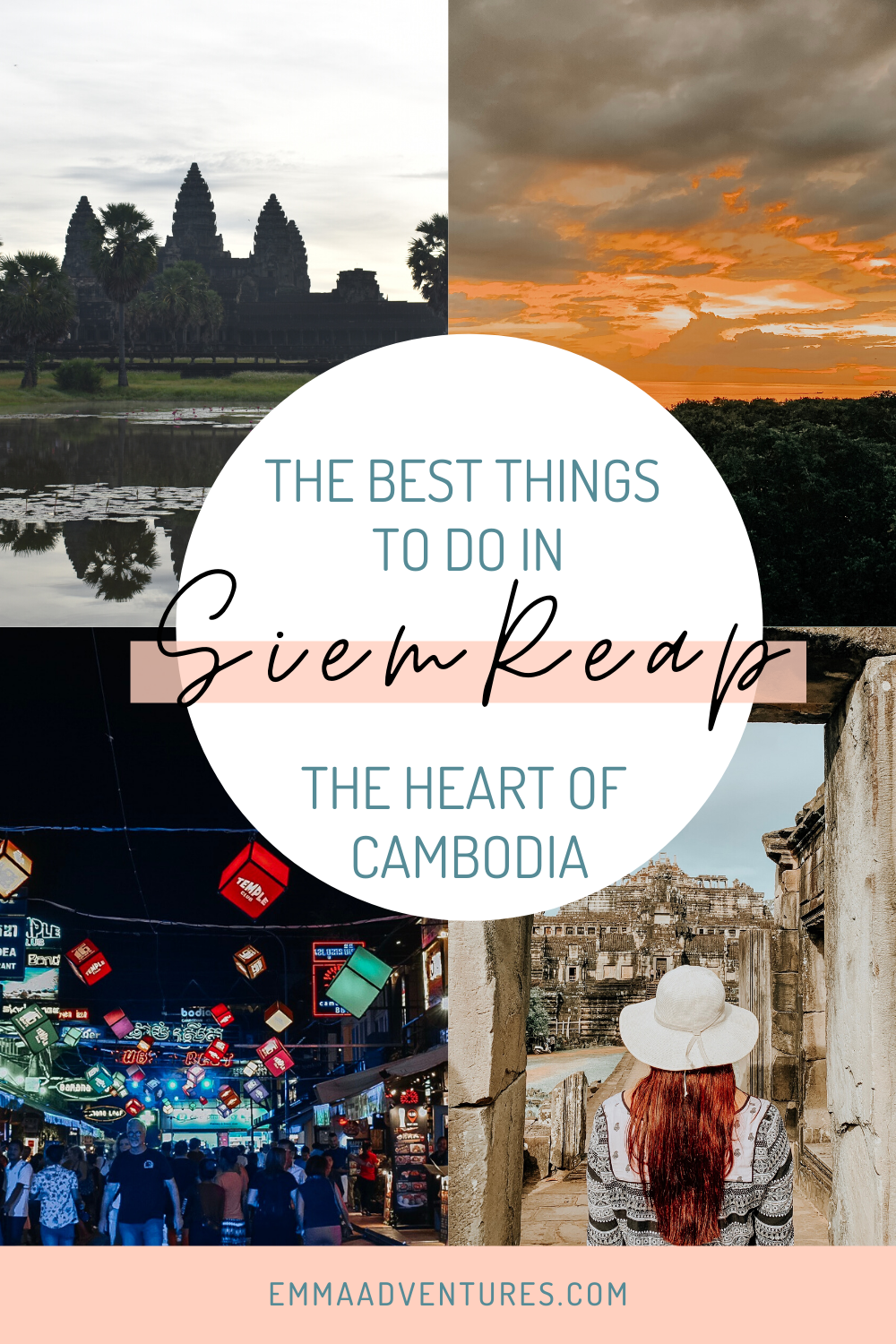 The ultimate Siem Reap travel guide has everything you need to know about travel in Siem Reap, Cambodia! The best things to see and do in Siem Reap, where to eat, drink and stay, plus Cambodia travel tips! Read it now!