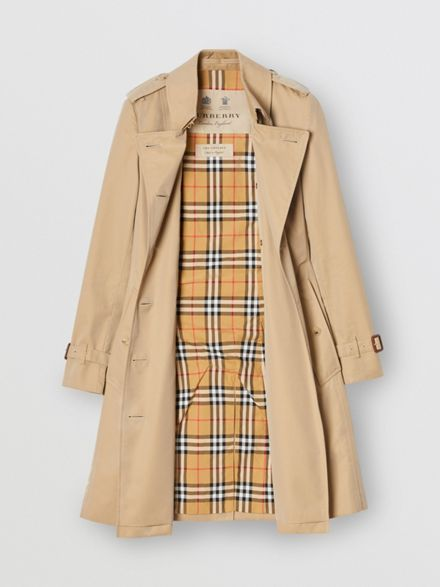The Mid-length Chelsea Heritage Trench Coat in Hon