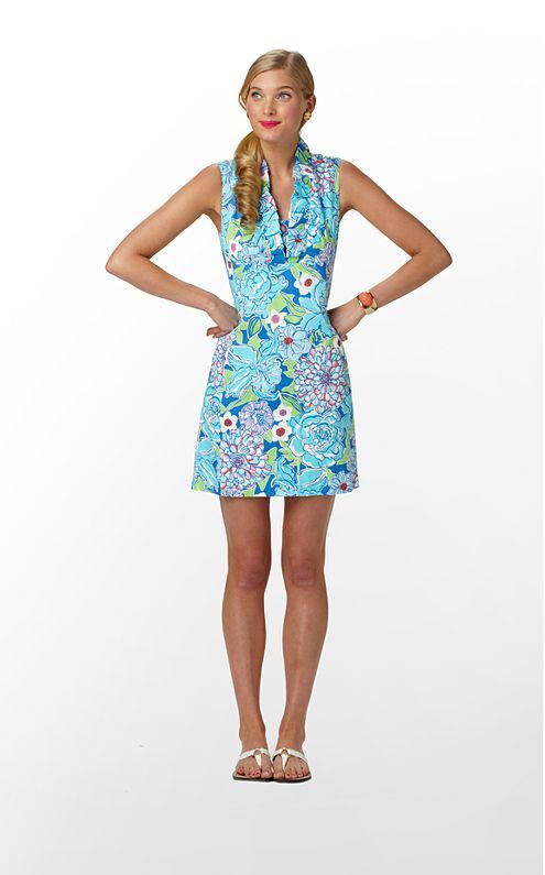 Adeline Dress in Worth Blue May Flowers $178 (w/o 4/1/12) #fashion #style
