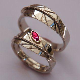 Manidoo Shkode N Gigindjide Eshkagan Set Of Anishinaabe Eagle Feather Wedding Rings