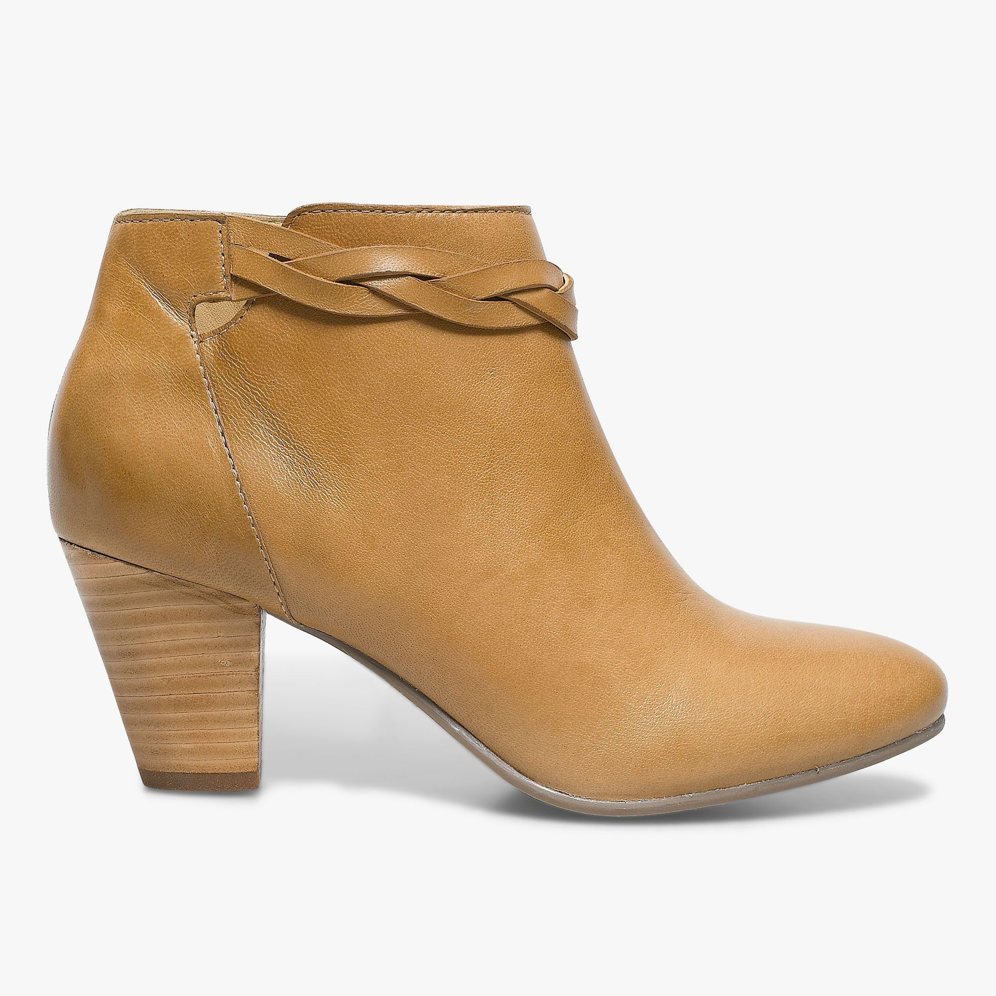 boots camel en cuir bocage 125€ | chaussure waw | pinterest | cuir
