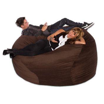 Big Tree Furniture Big Sacks Large Bean Bag Chair