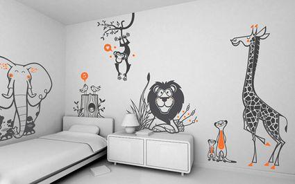 Vinilos decorativos para habitaciones infantiles - DecoActual.com ...