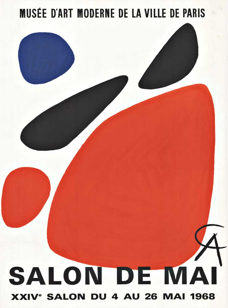 Musée D Art Moderne De La Ville De Paris Paris : musée, moderne, ville, paris, Alexander, Calder, Musee, D'Art, Moderne, Ville, Paris, Museum, Poster,, Exhibition, Vintage, Posters