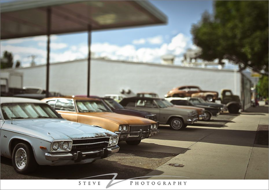 Vintage Car lot. Circa 1990\'s. | Old Gas Stations, Car Dealers ...