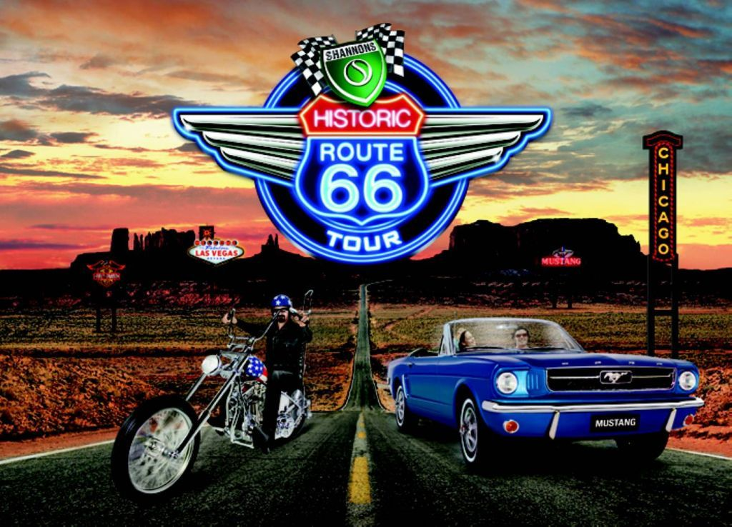 Bucket list 12 drive route 66 in a convertible from