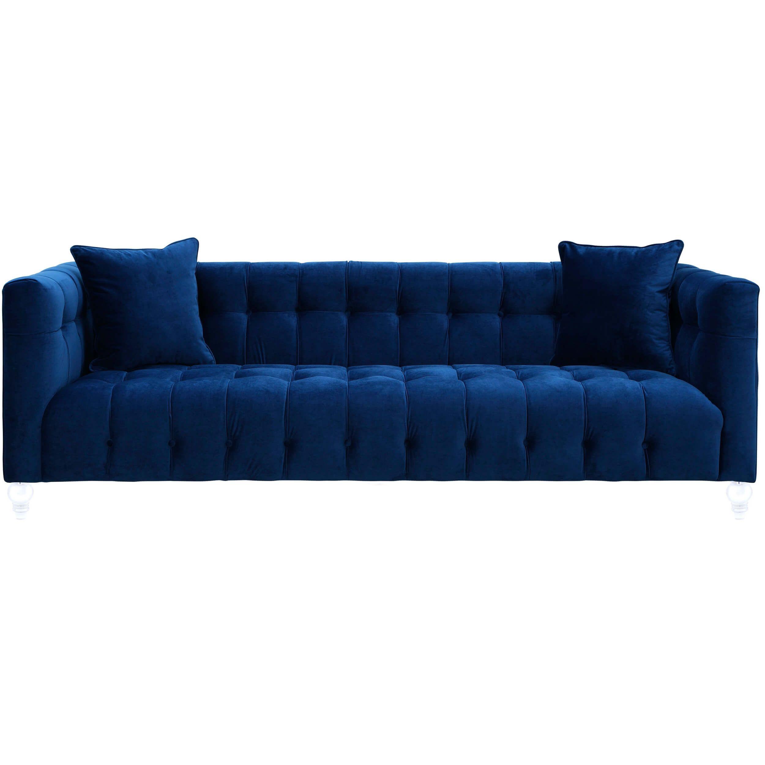 Bea Sofa Navy Recline And Shine Living Room Room Ideas Blue Velvet Sofa Navy Blue Velvet Sofa Velvet Sofa