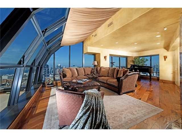 City View Penthouse City Apartment San Diego Real Estate San Diego Condos