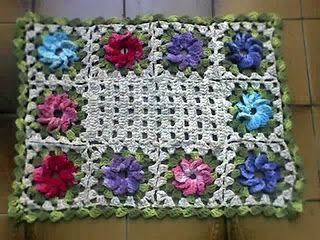 pinwheel mat