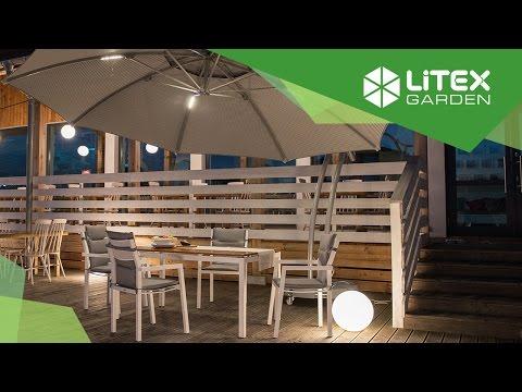 Parasol Ogrodowy Ibiza 4 2 M Szary Na Wysiegniku To Przede Wszystkim Wysokiej Jakosci Wykonanie Doskonala Dekoracja Do Ogro Patio Umbrella Patio Outdoor Decor