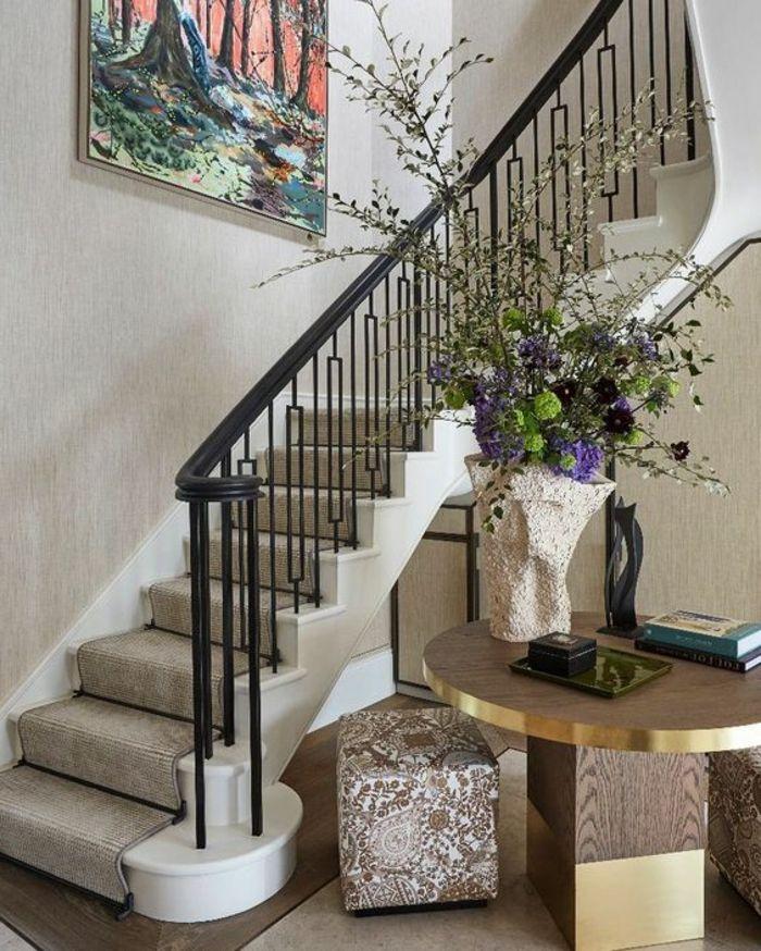 Wohnideen Treppenaufgang treppenaufgang gestalten schöne wohnideen gestaltung treppen