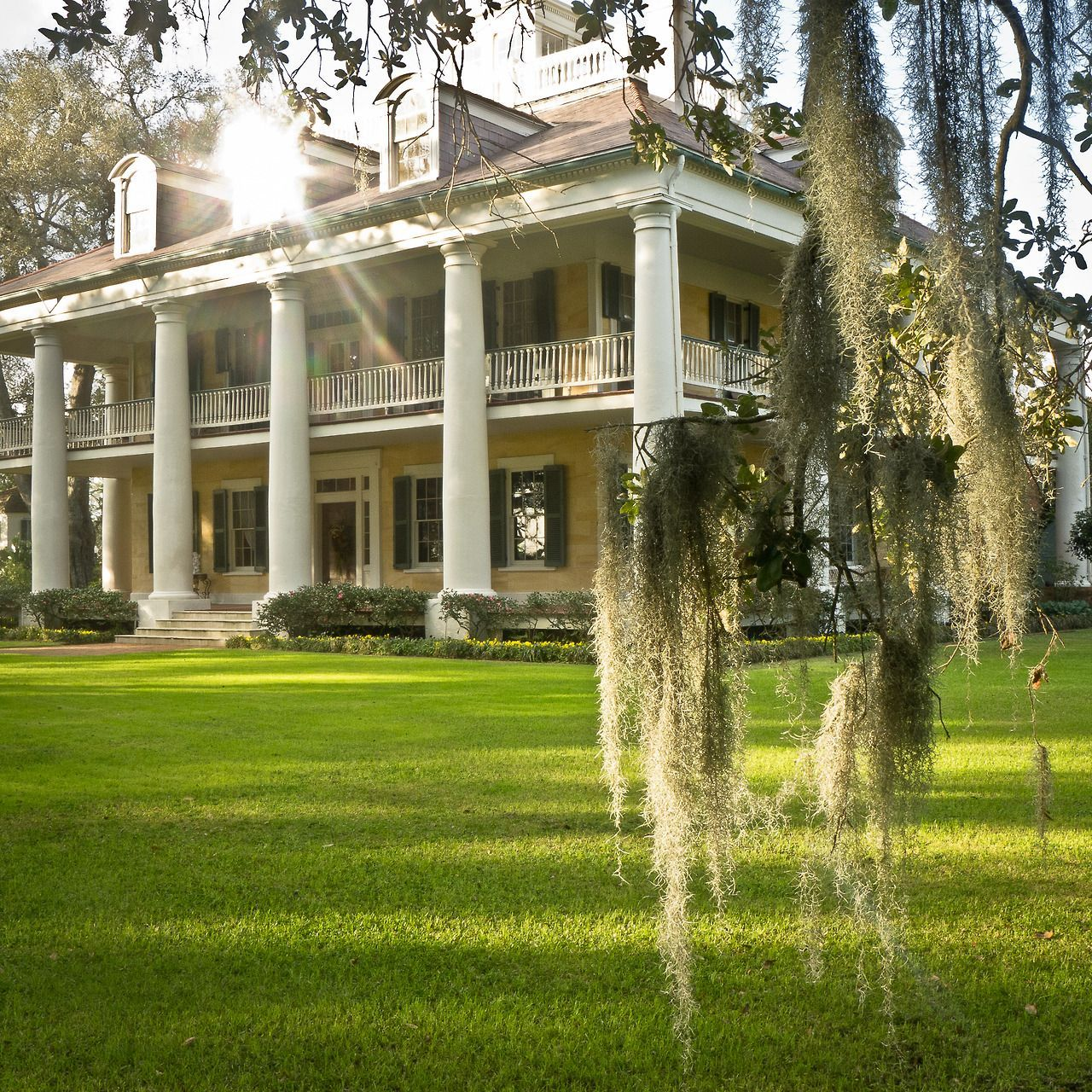 The Houmas, Also Known As Burnside Plantation, 1840