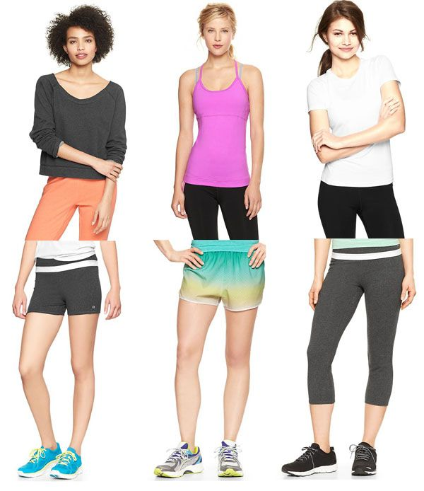 Budget Workout Clothes On Sale From The Gap  bfb6c75c6