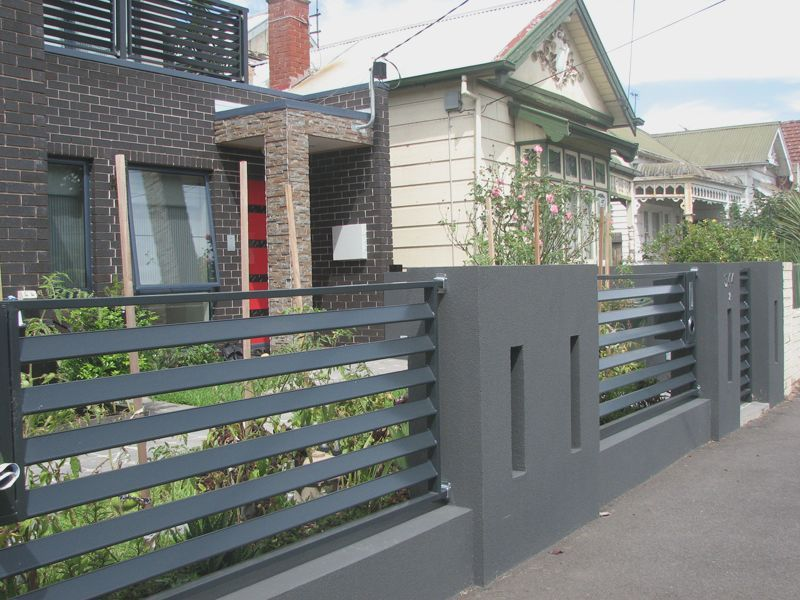 modern fence design ideas philippines - Google Search ... on Gate Color Ideas  id=98672