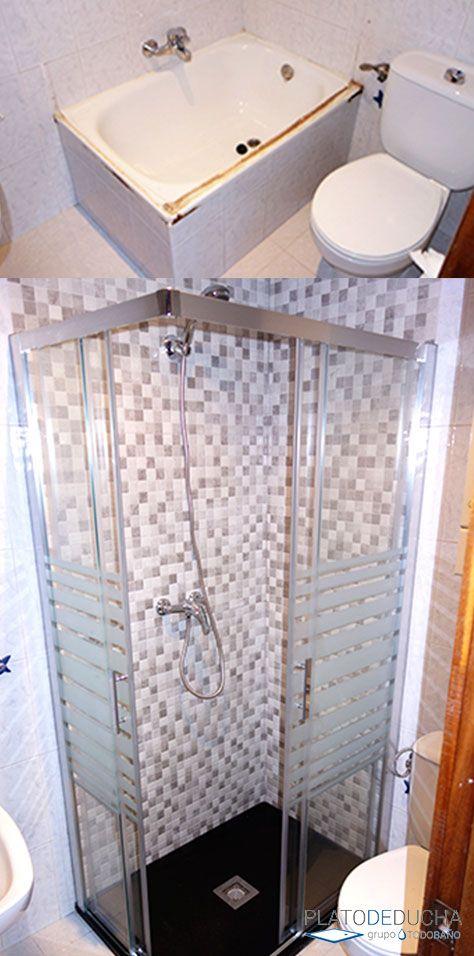 Cambio de bañera por ducha - Reforma de baños en Rojales ...