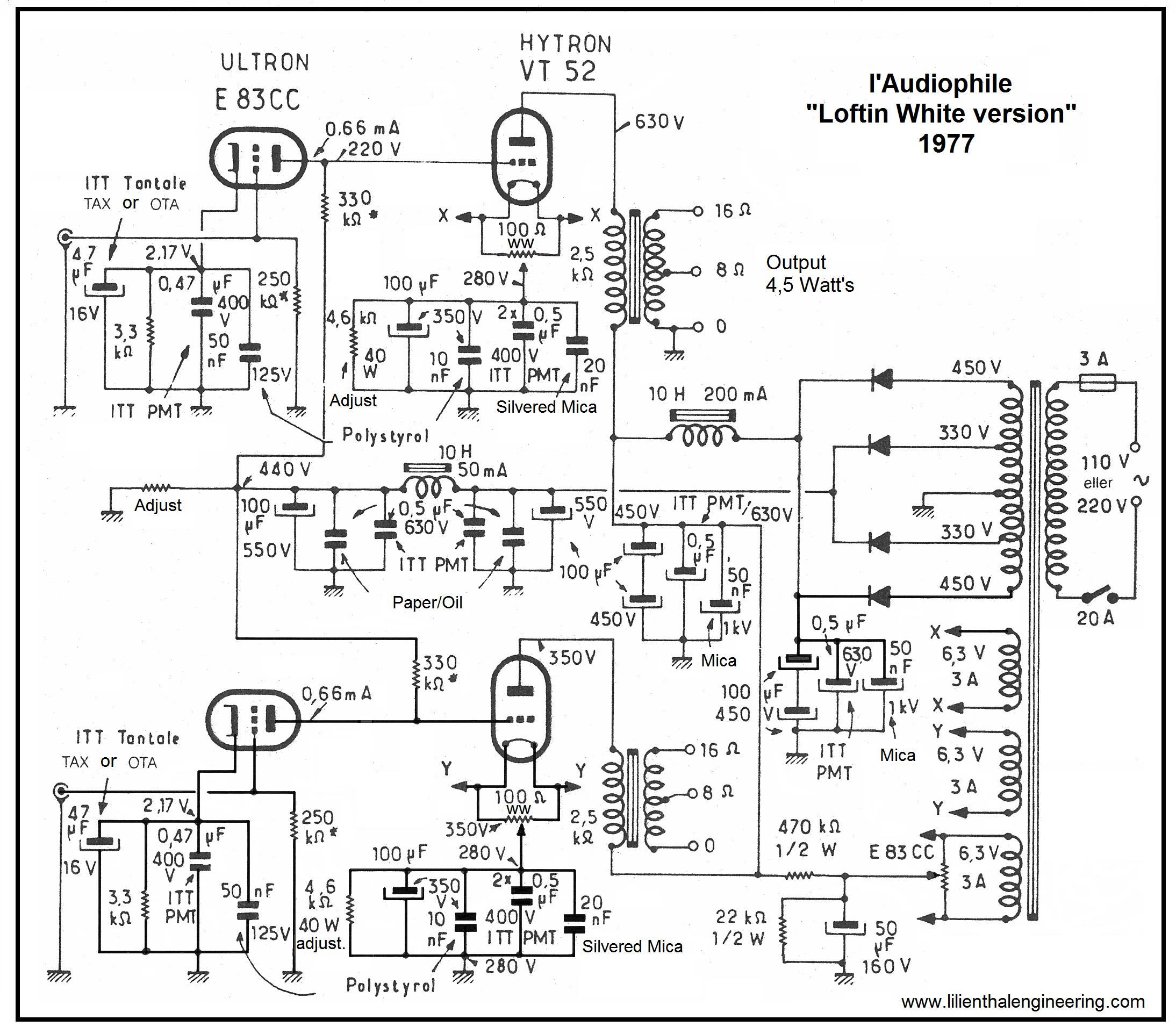 l u0026 39 audiophile vt52 se  1977