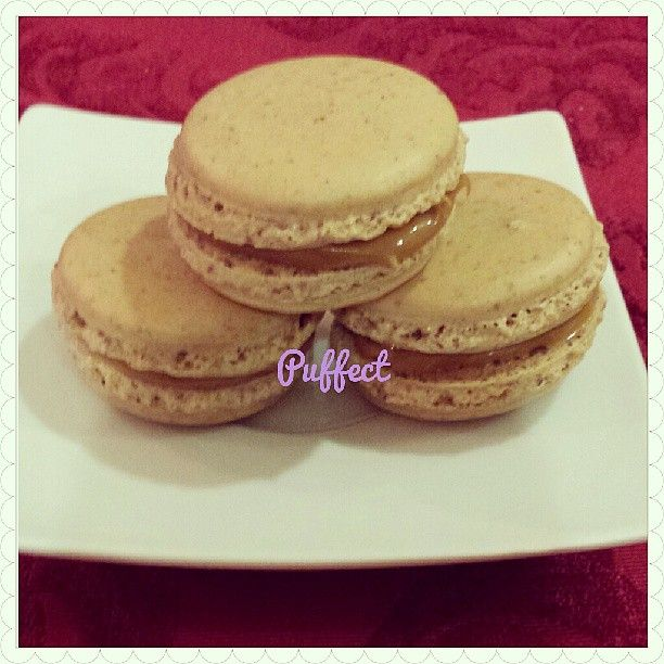 #Speculoos (Cookie Butter) #macarons