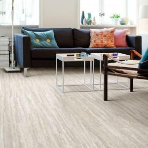 Trafficmaster Travertine Plank 12 Ft Wide Vinyl Sheet U6880 279c932p144 The Home Depot Vinyl Sheet Flooring Luxury Vinyl Tile Flooring Luxury Vinyl Plank