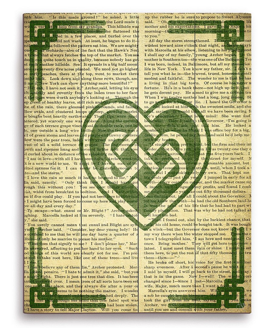 Look at this Celtic Knot Heart Wall Art on #zulily today! | Decor ...