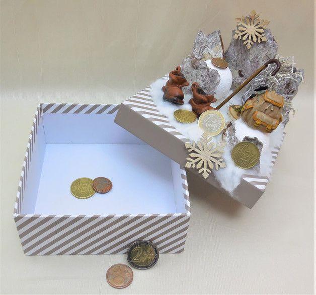 Eine Originelle Verpackung Zum Verschenken Von Geld Oder Gutscheinen