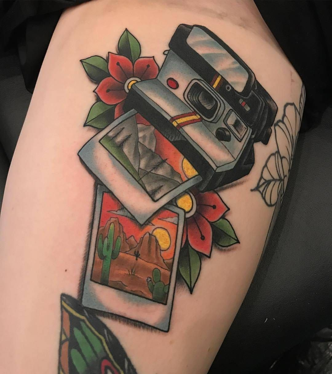 Tattoosnob Tattoosnob On Instagram Scenic Polaroid By Mike Stoll In Toledo Ohio Photos Photographs Polaroi With Images Camera Tattoos Traditional Tattoo Tattoos